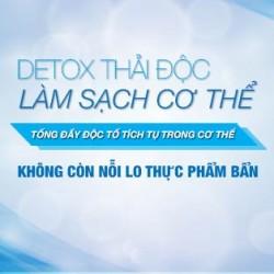 Detox thải độc cơ thể